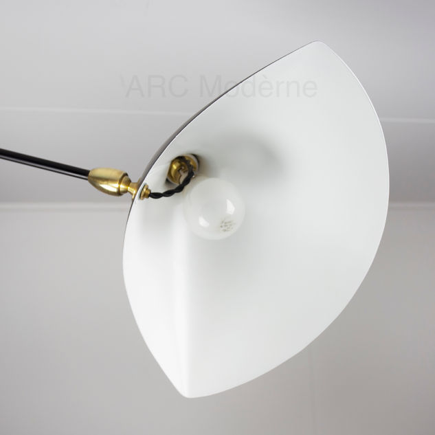 Serge Mouille Three Arm Floor Lamp Shade