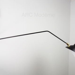 Serge Mouille Two Arm Wall Lamp Arm.jpg