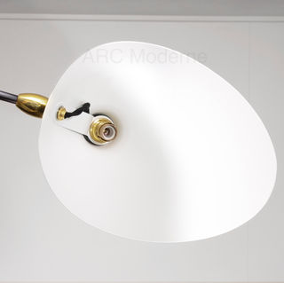 Serge Mouille Three Arm Ceiling Rotating