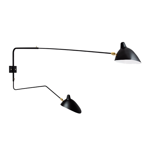 Two Arm Wall Lamp