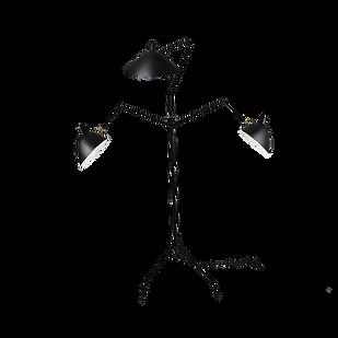 Serge Mouille Three Arm Floor Lamp