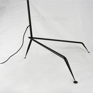 Serge Mouille Three Arm Floor Lamp Legs.