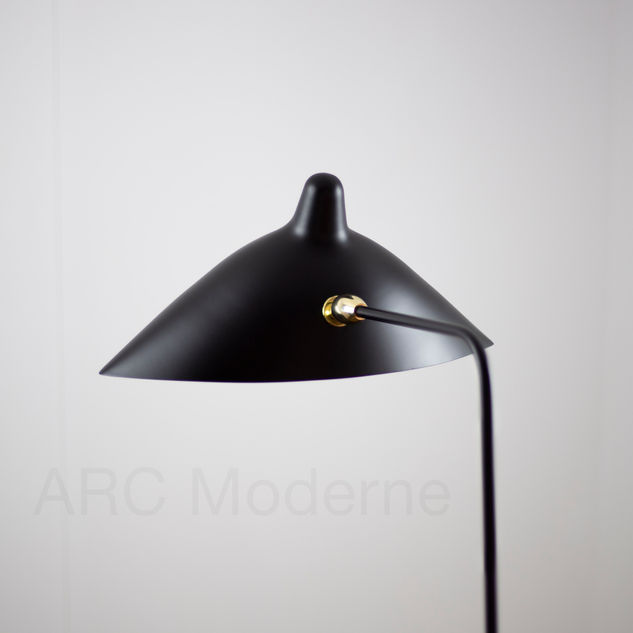 Serge Mouille One Arm Floor Lamp Shade B