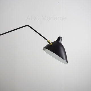Serge Mouille Three Arm Floor Lamp Arm L