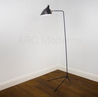 Serge Mouille One Arm Floor Lamp Hero.jp