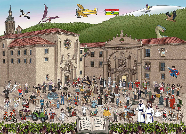 Puzle Descubriendo La Rioja