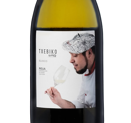 Txebiko. Vino blanco de Rioja