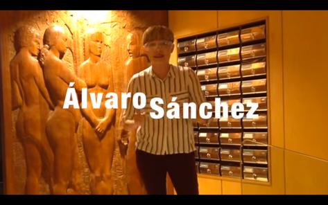 Un día con Álvaro Sánchez, por PAPAYA, 30 abril 2017