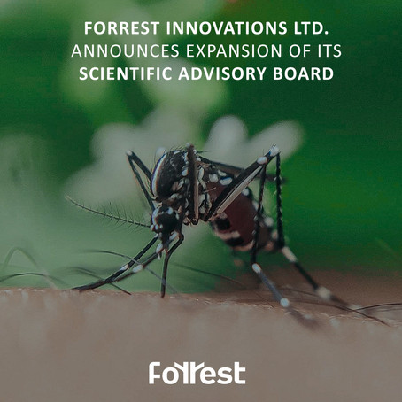 Forrest Innovations Ltd. Announces Expansion of Its Scientific Advisory Board