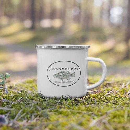 Limited Edition Jolly's Mill Pond Bass Enamel Mug