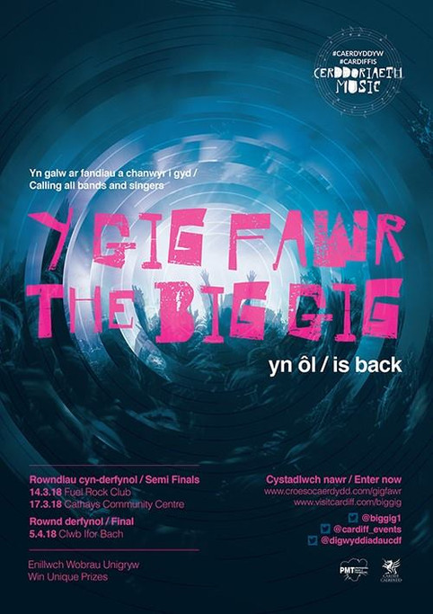 The Big Gig Final @ Clwb Ifor Bach