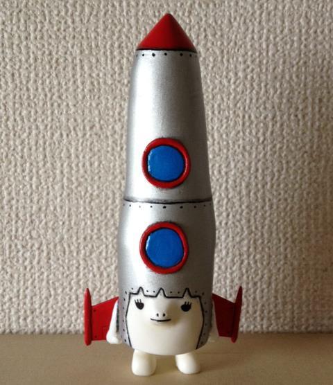 ロケットマキコ(立体フィギュア)