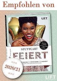 Plakette_Empfehlung_Stuttgart_Feiert