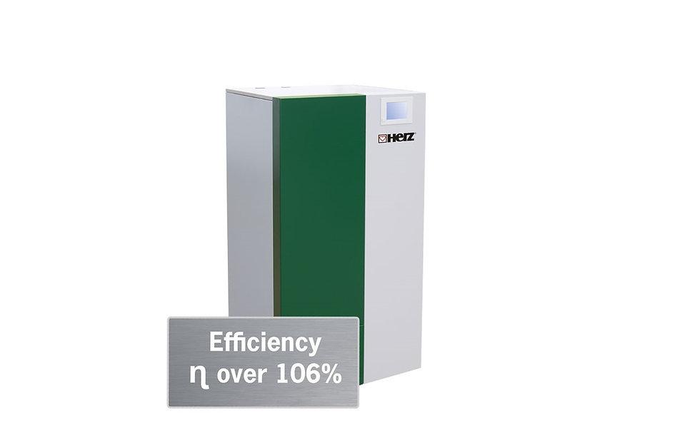 Caldaie a condensazione a pellet pelletstar CONDENSATION 10 – 60 kW | Herz