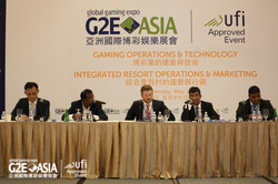 G2E Asia 2017 17th May Conference _Gaming Operations and Technology & Integrated Resort Operations a