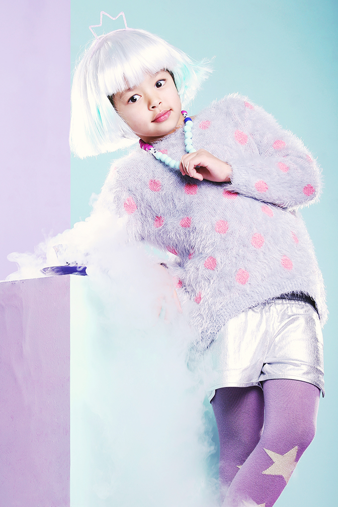 pastel fashion editorial