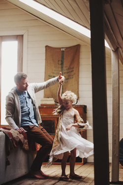 father daughter portraits