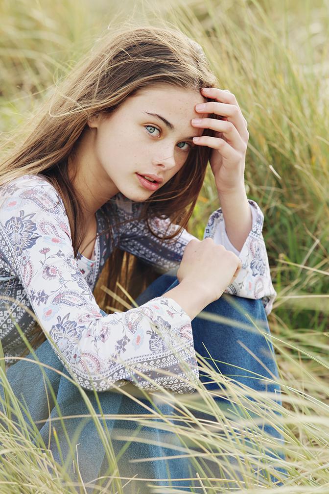 meika child model