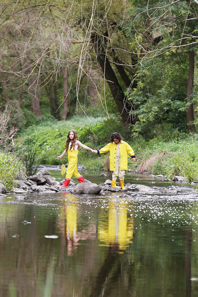 yellow raincoats for kids