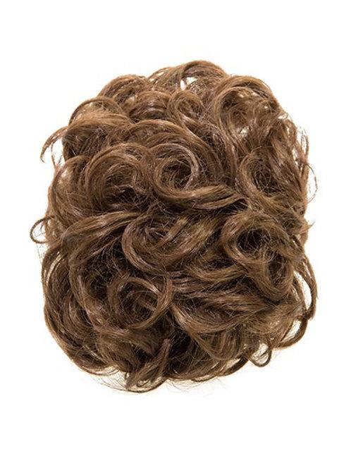Curly Clamp Bun