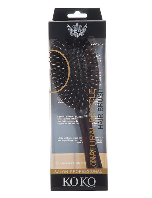 Natural Bristle Hair Brush