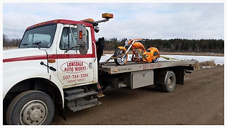 Motorcycle Towing, Equpment Transport, Law Enforcement and Private Property Impounds