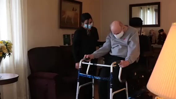 Physical Therapy Student Donates Mobility Equipment to Seniors