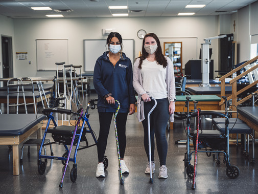 DPT Students Recycle Mobility Equipment to Patients in Need