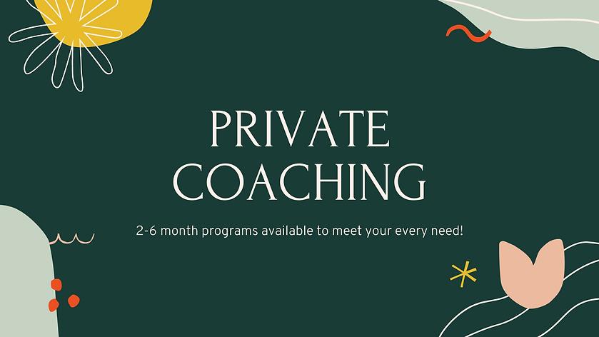 Private Coaching