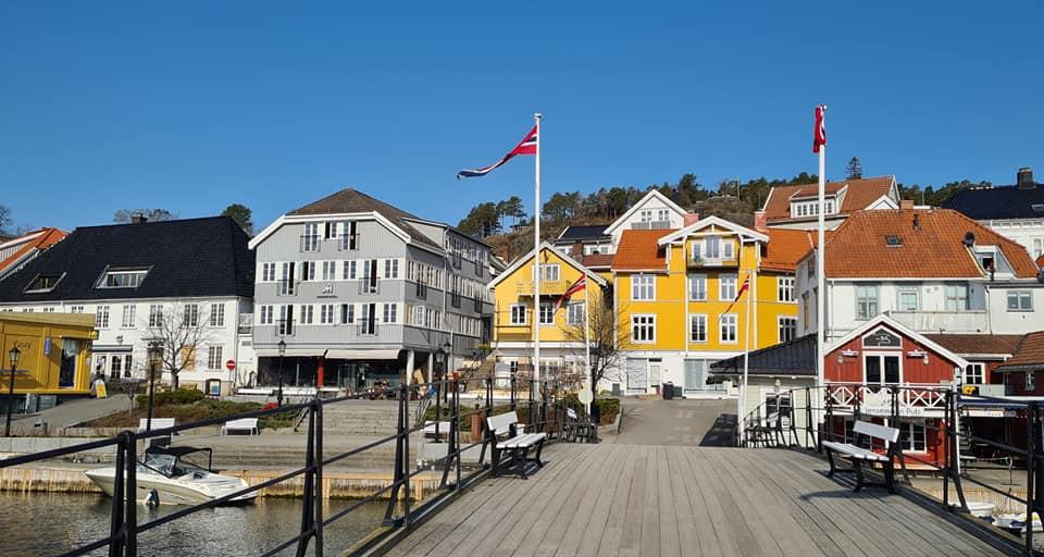 Kragerø town Norway