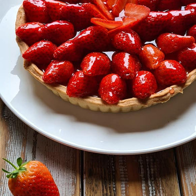 Jordbærterte, Strawberry Tart