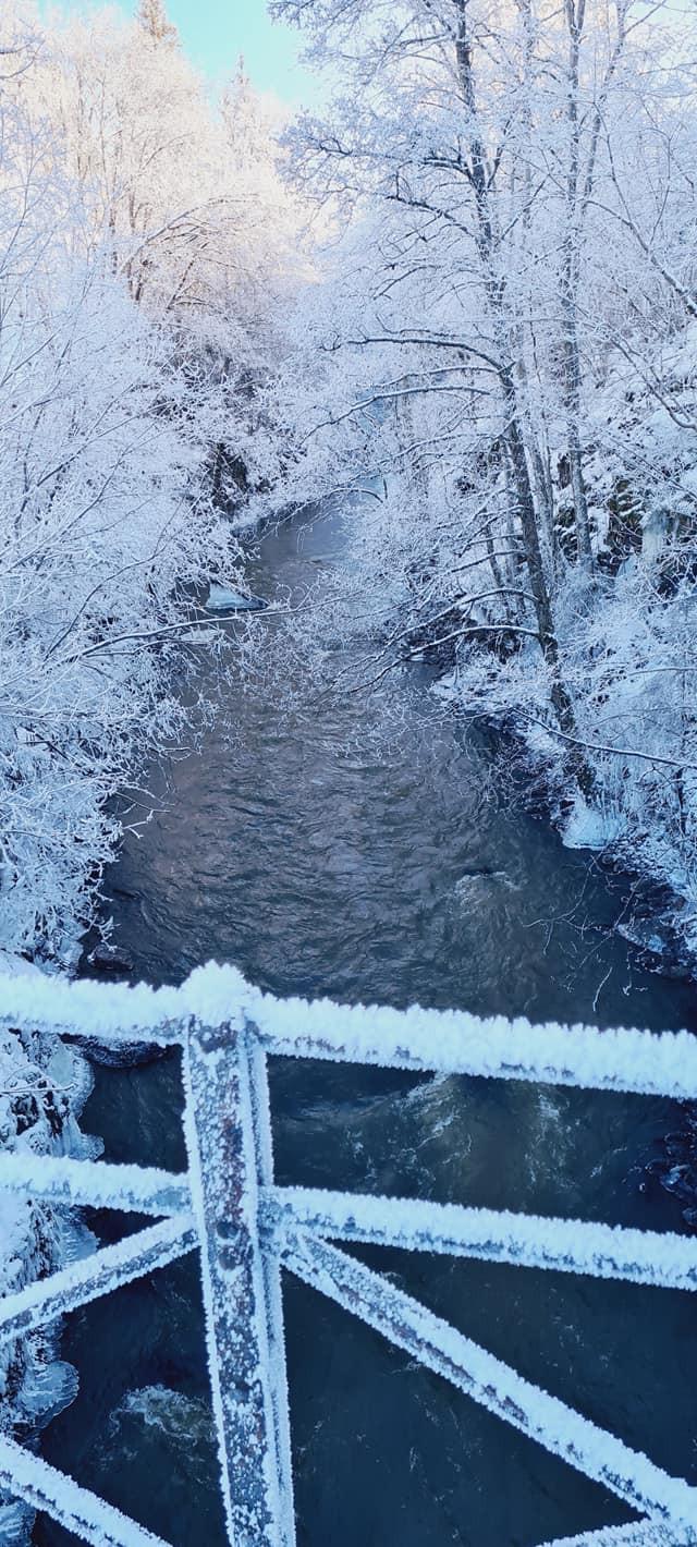 Norway winter scene