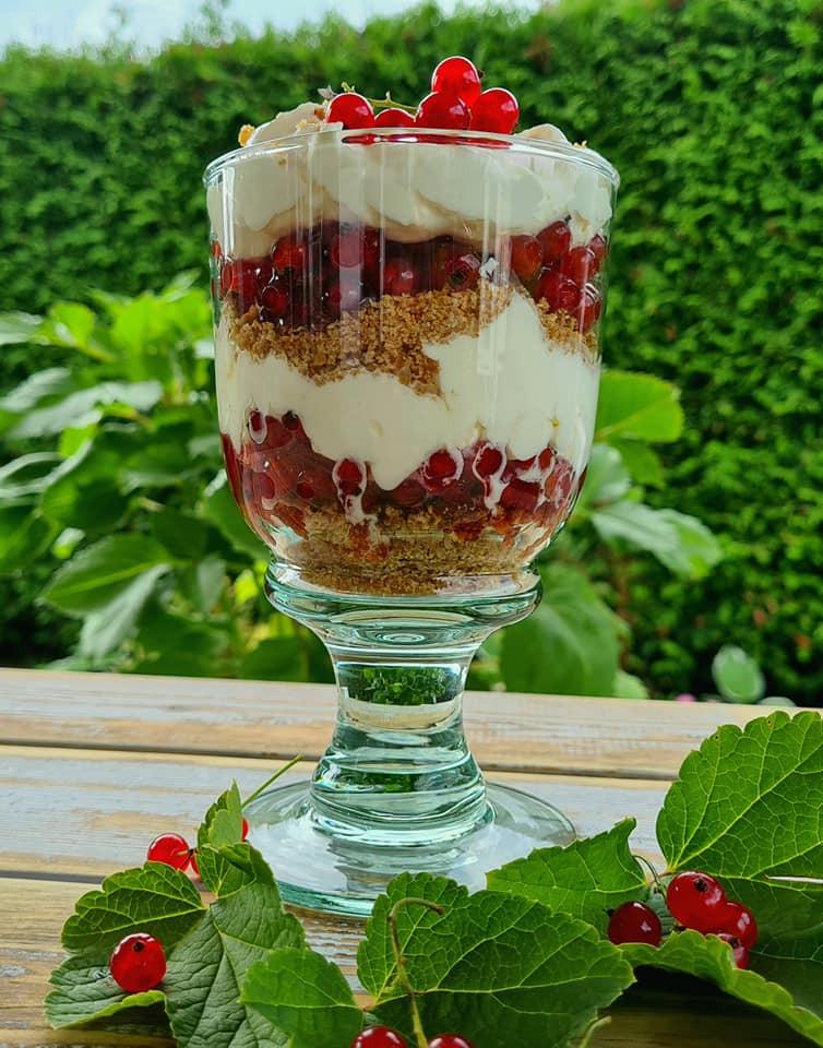 redcurrant dessert