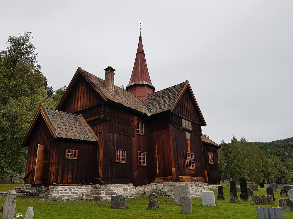 Rollag Stave Church, Norway