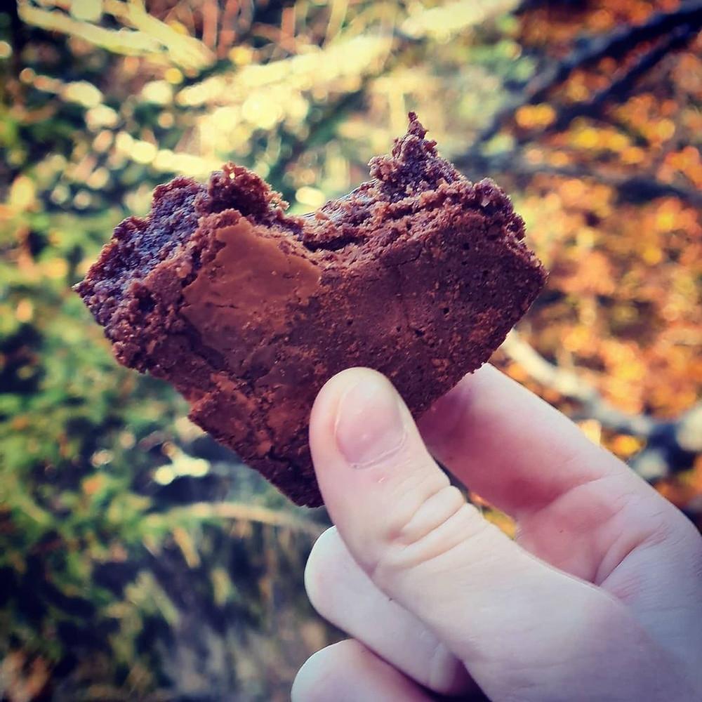 Turmat.  Chocolate brownie, Norway