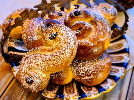 Lussekatter, the taste of St Lucia's Day
