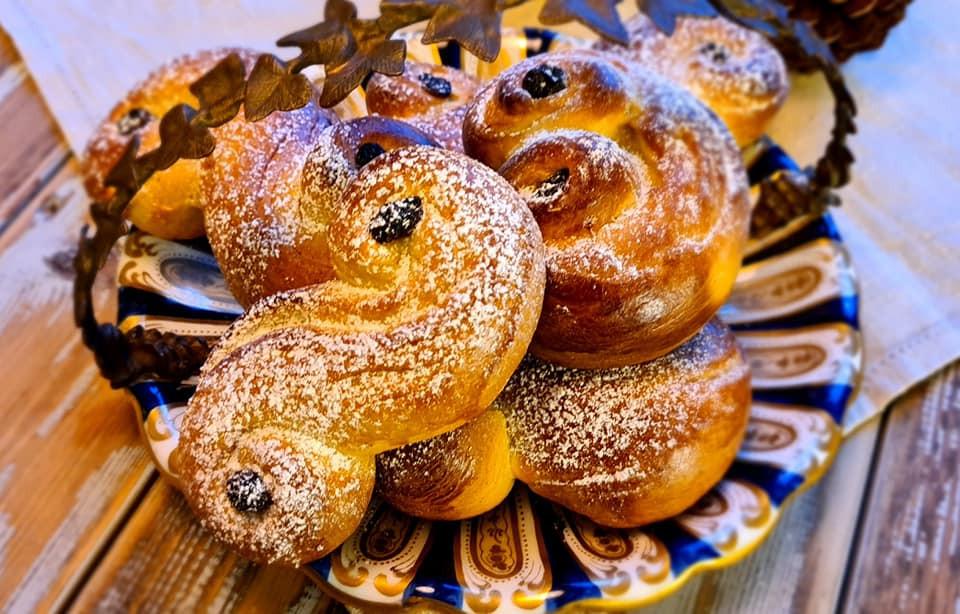 Lussekatter, Norwegian saffron bun