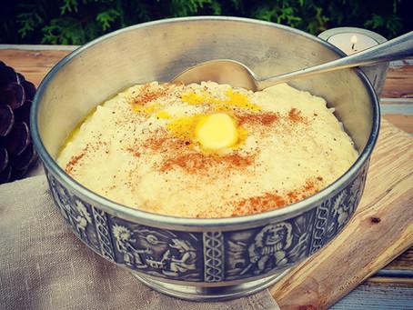 Nordic Risgrøt (rice pudding)