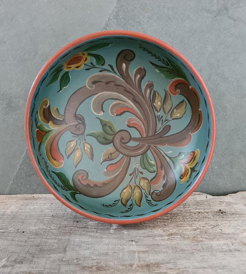 Rosemalt bowl