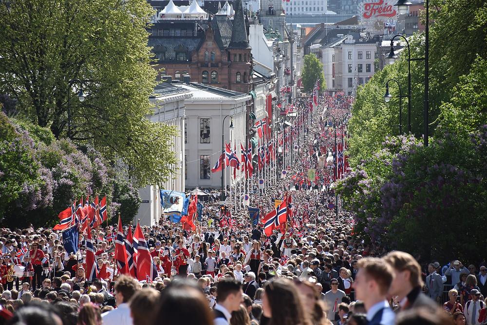 Syttende Mai Oslo Norway