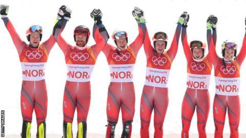 Norway ski team