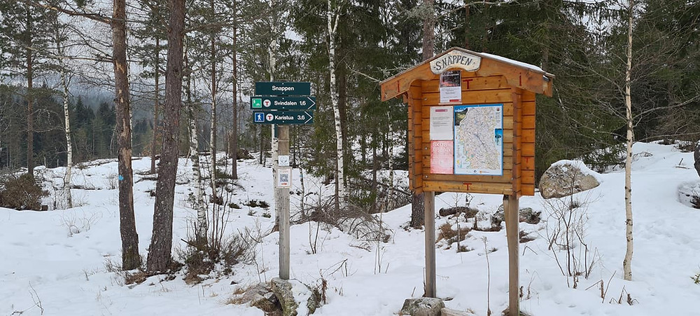 Allemannsrett Norway.  Norway winter