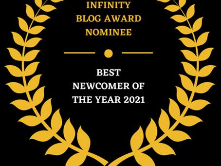 Blog Award Nomination!