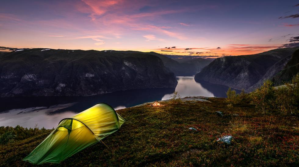Norway camping
