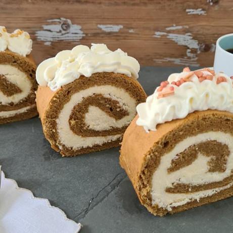 Kaffe Rulltårta (Coffee Roll Cake)