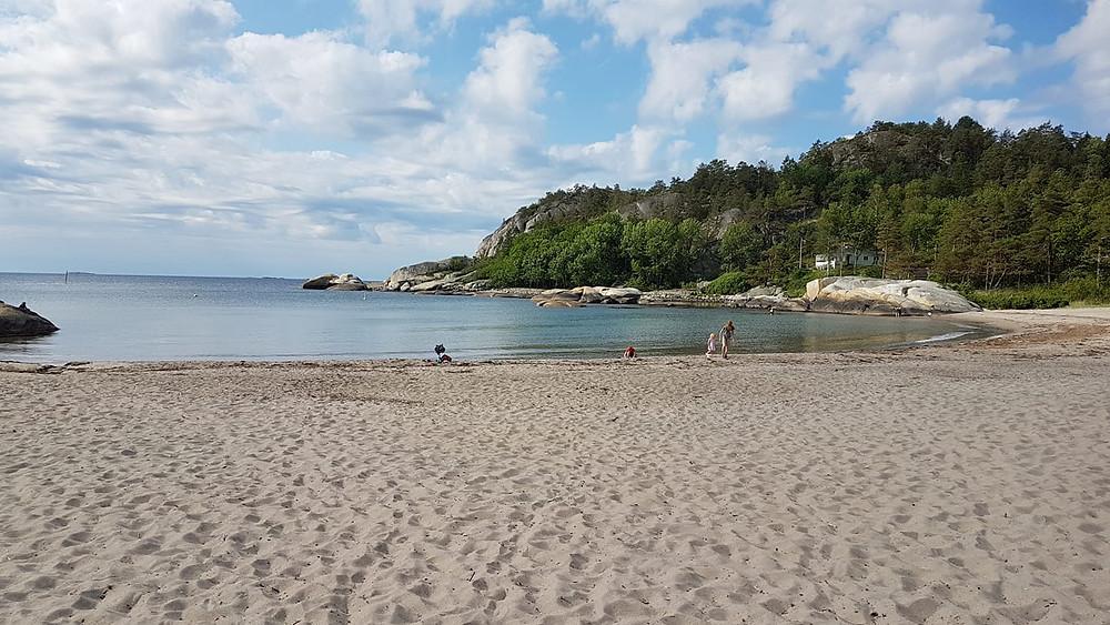 Norway beach