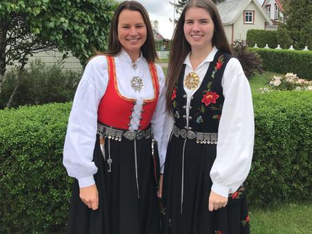 Beautiful Bunads, Norwegian National Costume