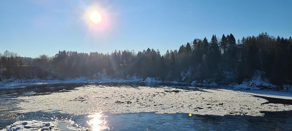 Norwegian winter, Lågendalen