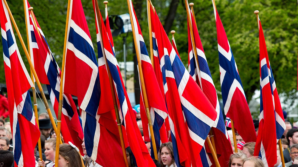 Norway National Day flags