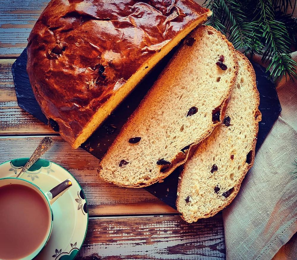 Norwegian julekake, Christmas cake